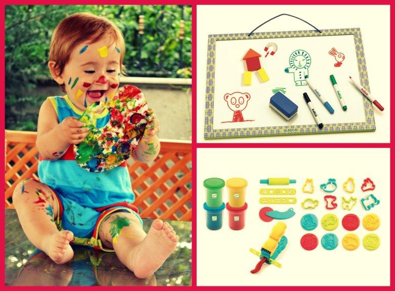 Boje s kojima se dijete igra trebaju biti sigurne