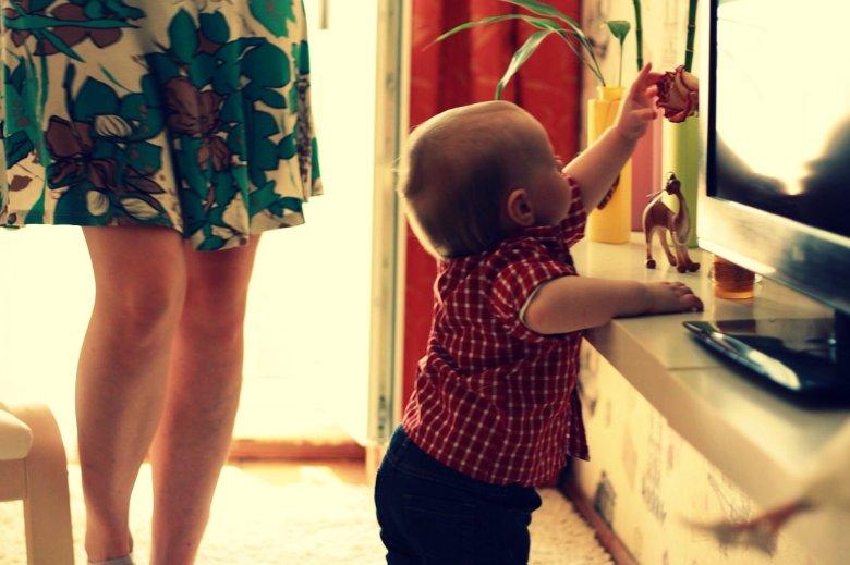 Ponekad dijete treba potaknuti na prve korake
