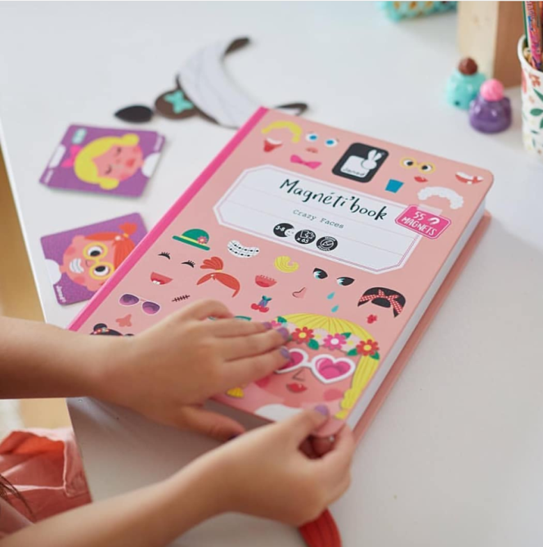 Edukativne igračke magneti - knjiga