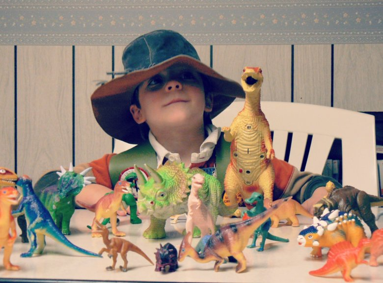 Gotovo svako dijete prolazi kroz fazu dinosaura