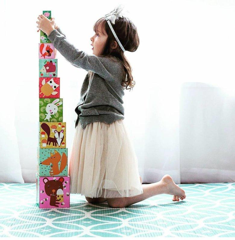 Djeca obožavaju slagati kockice