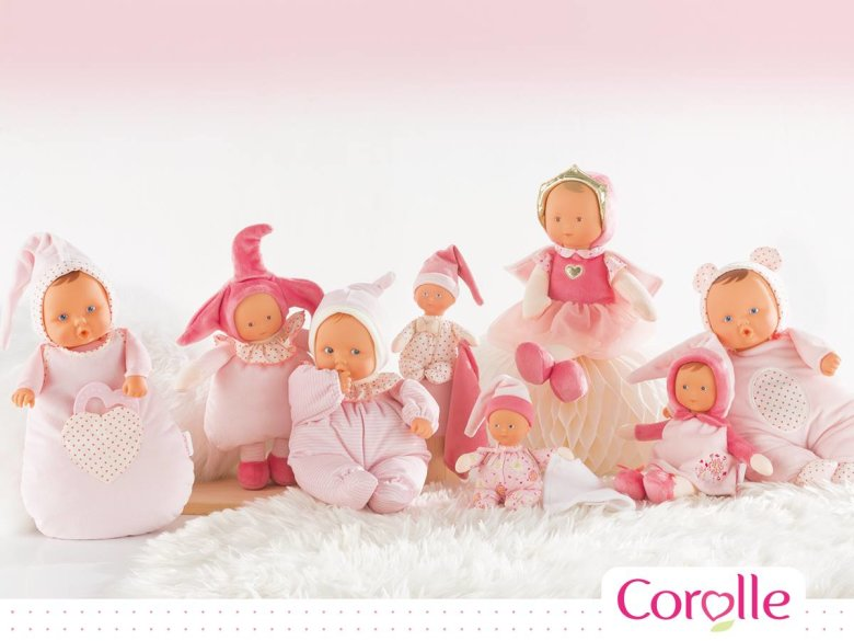Corolle lutkice, igračke koje rastu s djetetom